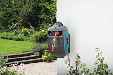 Gartenschlauch-Box mit Roll-Up Automatik